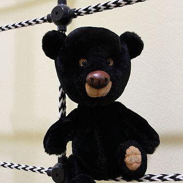 """Куклы и игрушки ручной работы. Ярмарка Мастеров - ручная работа Игрушки: Мишка Тедди """"Блэк"""". Handmade."""
