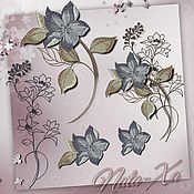 Материалы для творчества handmade. Livemaster - original item Autumn Coolness. Set №2. Designs for machine embroidery.. Handmade.