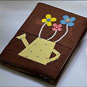 Канцелярские товары ручной работы. Ярмарка Мастеров - ручная работа Обложки для книг. Handmade.