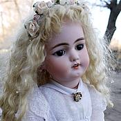 Материалы для творчества ручной работы. Ярмарка Мастеров - ручная работа Парик для антикварной куклы.. Handmade.