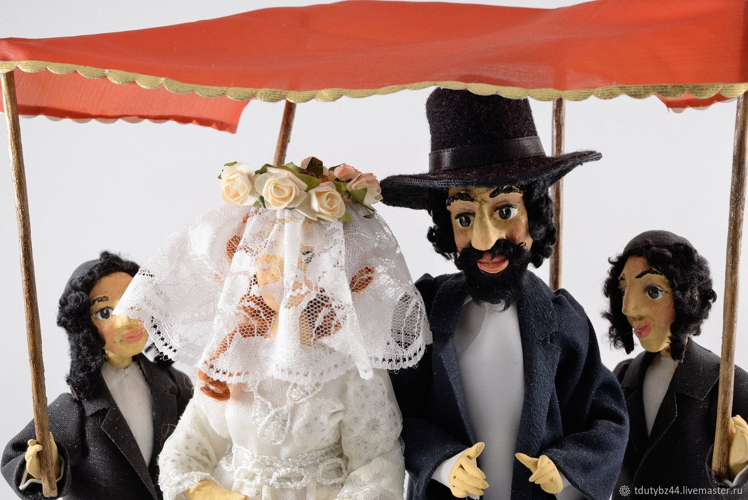 Dolls Jewish Wedding Gift For Collector Shop Online On Livemaster