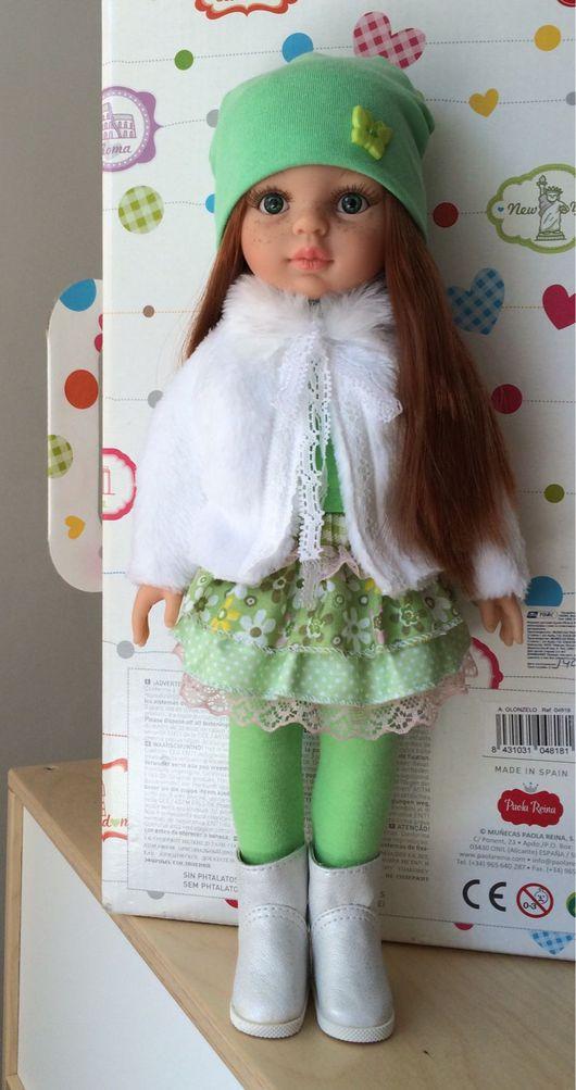 Одежда для кукол ручной работы. Ярмарка Мастеров - ручная работа. Купить Комплект на Paola Reina. Handmade. Одежда для кукол, doll