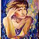 Портрет по фото, масло, акварель, Катя Бейбарсова. Краткие сроки, профессионально.  Цены от 500 р, доставка в любую точку мира.