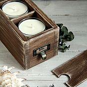 """Сувениры и подарки ручной работы. Ярмарка Мастеров - ручная работа Ароматная коробочка """"Relax"""". Handmade."""