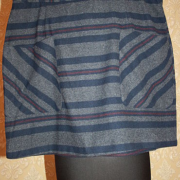 Винтаж ручной работы. Ярмарка Мастеров - ручная работа Винтажная юбка  54 размер 90е. Handmade.