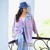 Одежда ручной работы. Ярмарка Мастеров - ручная работа Вязаное пальто в стиле бохо. Handmade.