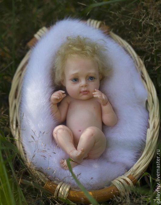 Куклы-младенцы и reborn ручной работы. Ярмарка Мастеров - ручная работа. Купить Ромочка. Handmade. Кремовый, миниатюра, фимо
