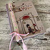Скетчбуки ручной работы. Ярмарка Мастеров - ручная работа Скетчбук для рисования. Handmade.