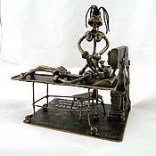 Сувениры и подарки handmade. Livemaster - original item Master of hard extubate (Anesthesiologist). Handmade.