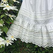 Одежда handmade. Livemaster - original item Cotton skirt