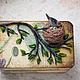 """Шкатулки ручной работы. Шкатулка """"Гнездо дрозда"""". Рыжий Кролик. Интернет-магазин Ярмарка Мастеров. Шкатулка, шкатулка для мелочей"""