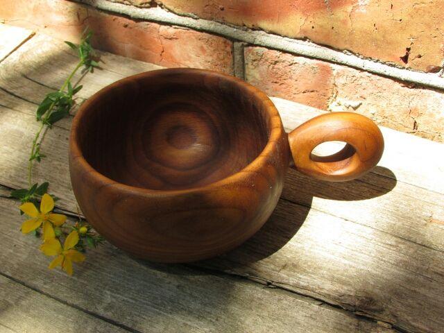 Кружки и чашки ручной работы. Ярмарка Мастеров - ручная работа. Купить Кружка из дерева. Handmade. Кружка, воск