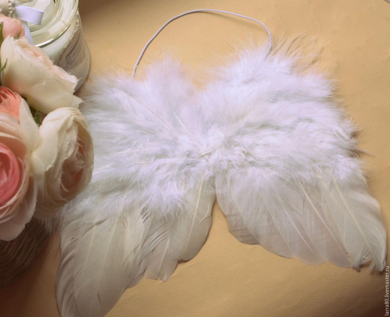 Крылья из перьев мастер класс