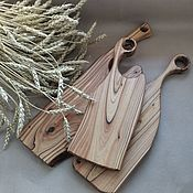 Посуда handmade. Livemaster - original item Cutting boards: Beautiful unique dostochki from karagach. Handmade.