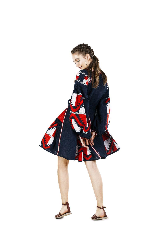 Платья ручной работы. Ярмарка Мастеров - ручная работа. Купить Платье из  льна