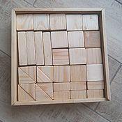 Кубики и книжки ручной работы. Ярмарка Мастеров - ручная работа Набор кубиков. Handmade.