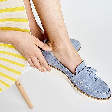 Обувь ручной работы. Ярмарка Мастеров - ручная работа Лоферы Anna Chaqrua. Handmade.