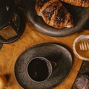 Посуда handmade. Livemaster - original item Set of tableware: Mug, saucer dessert plate. Handmade.