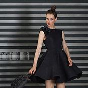 Одежда ручной работы. Ярмарка Мастеров - ручная работа Валяное платье «Graphite». Handmade.