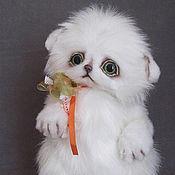 Куклы и игрушки ручной работы. Ярмарка Мастеров - ручная работа котенок  Васюшка. Handmade.