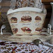 """Для дома и интерьера ручной работы. Ярмарка Мастеров - ручная работа Набор для кухни """"Sweet tooth"""". Handmade."""
