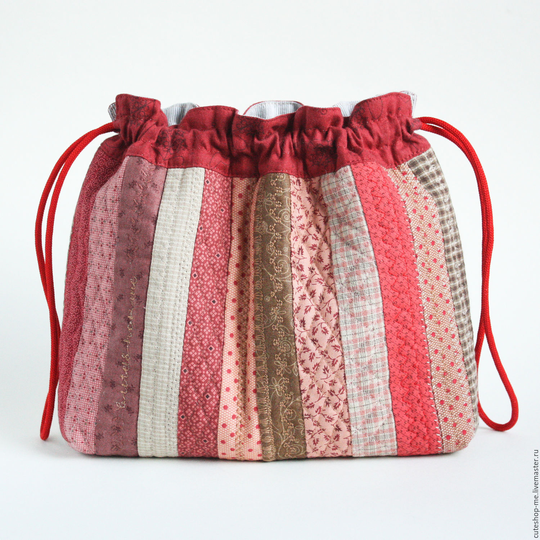 Сшить сумку из текстиля