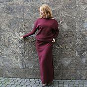 """Одежда ручной работы. Ярмарка Мастеров - ручная работа Теплое платье """"Агата"""". Handmade."""