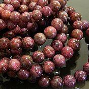 Материалы для творчества handmade. Livemaster - original item Tourmaline beads, Rubellite, 8 x 8,2 mm bead. Handmade.