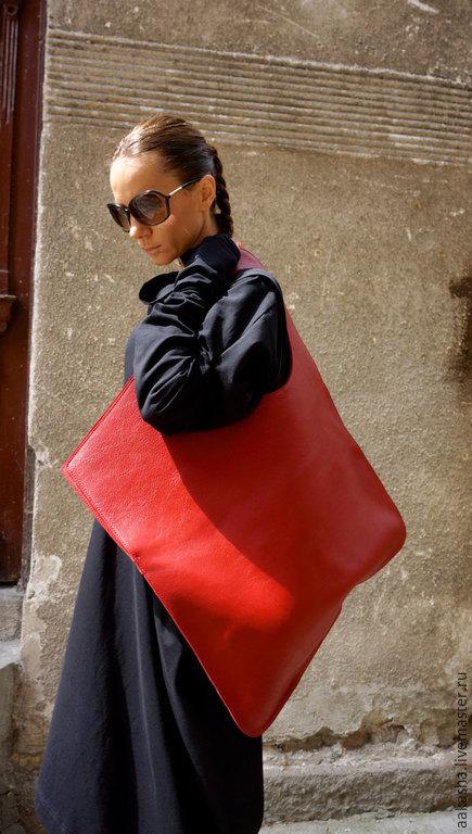 Сумка кожаная сумка из натуральной кожи яркая сумка из кожи