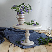 Для дома и интерьера ручной работы. Ярмарка Мастеров - ручная работа Тортовница Retro Wood. Handmade.