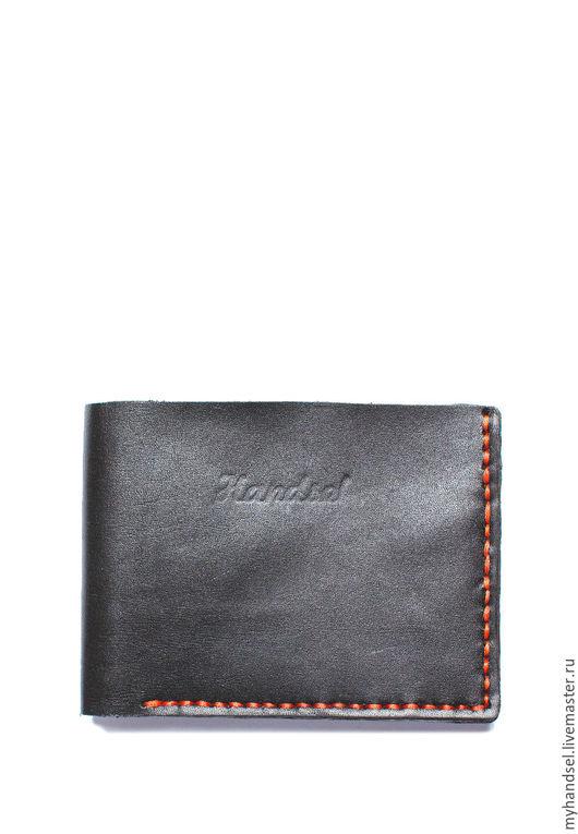 Складное портмоне из натуральной кожи/кожа быка/ исключительно ручная работа/ 2490 рублей/ Приглашаем Вас в гости http://vk.com/myhandsel