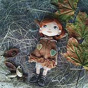 Куклы и игрушки ручной работы. Ярмарка Мастеров - ручная работа Текстильная кукла ручной работы. Handmade.
