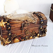 handmade. Livemaster - original item Pirate`s chest. Handmade.
