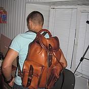 Сумки и аксессуары ручной работы. Ярмарка Мастеров - ручная работа Кожаный рюкзак,leather backpack 2. Handmade.