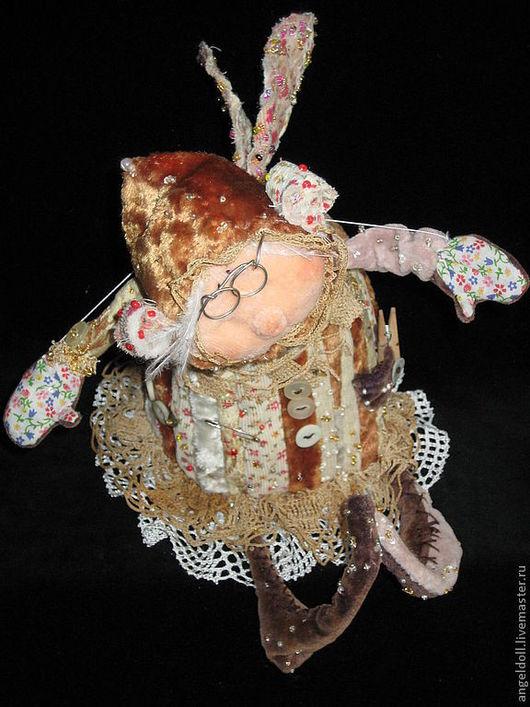 Коллекционные куклы ручной работы. Ярмарка Мастеров - ручная работа. Купить Ангелина Макаровна. Handmade. Бежевый