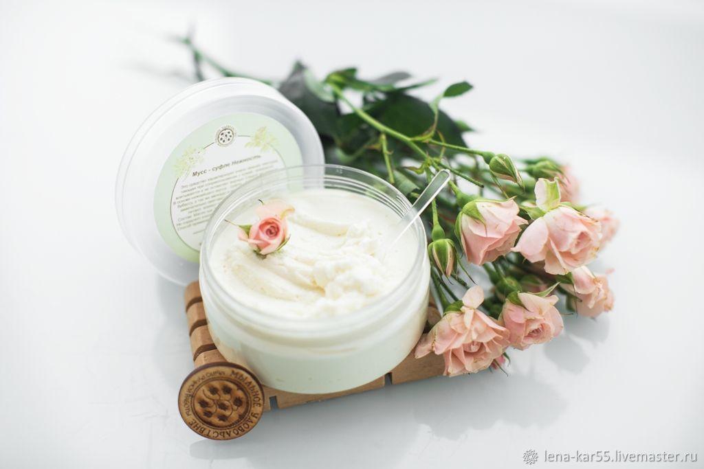 Hand Body Cream Whipped Shea Butter Hydration and Nutrition, Body Cream, Novye Burasy,  Фото №1