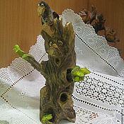 Мини фигурки и статуэтки ручной работы. Ярмарка Мастеров - ручная работа Мини фигурки и статуэтки: Леший- резьба по дереву. Handmade.