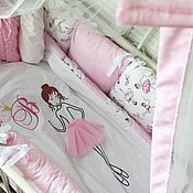 Работы для детей, handmade. Livemaster - original item Set in a crib the Ballerina. Handmade.