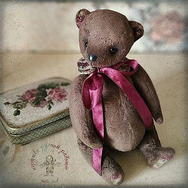 Куклы и игрушки ручной работы. Ярмарка Мастеров - ручная работа Игрушки: Мишка. Handmade.