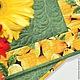 Кухня ручной работы. Ярмарка Мастеров - ручная работа. Купить Ланчматы Лимончелло. Handmade. Желтый, салфетка, кухонные аксессуары, утеплитель