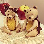 Куклы и игрушки ручной работы. Ярмарка Мастеров - ручная работа Медовые медведи. Handmade.