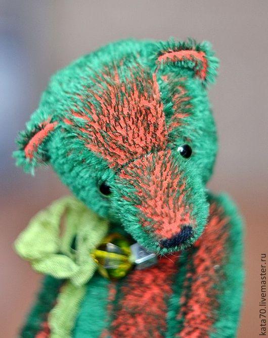 Мишки Тедди ручной работы. Ярмарка Мастеров - ручная работа. Купить АРБУЗ. Handmade. Тёмно-зелёный, тедди, крейзи-мохер