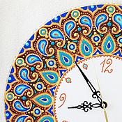 Для дома и интерьера ручной работы. Ярмарка Мастеров - ручная работа Часы с огурцами. Handmade.