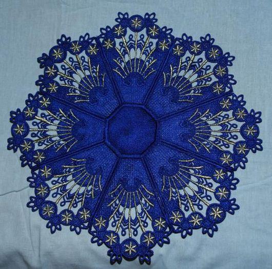 Текстиль, ковры ручной работы. Ярмарка Мастеров - ручная работа. Купить искрящееся небо. Handmade. Машинная вышивка, вискоза, вышивка