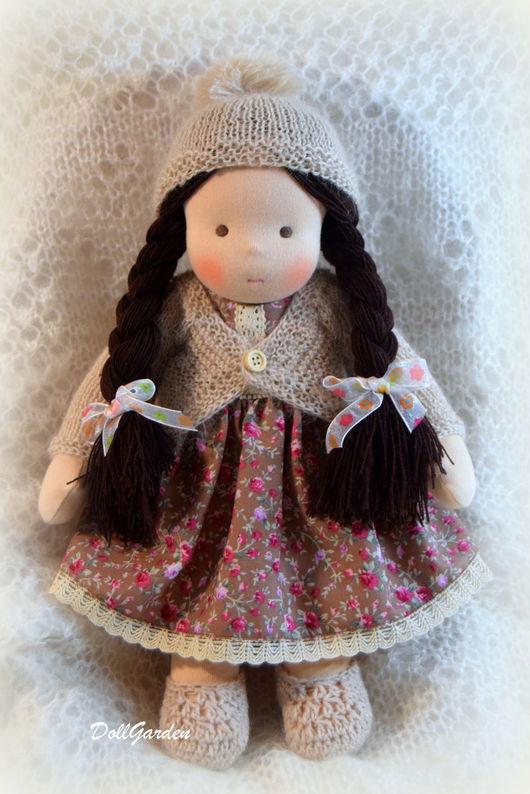 Вальдорфская игрушка ручной работы. Ярмарка Мастеров - ручная работа. Купить Светочка, вальдорфская кукла. Handmade. Бежевый, купить куклу