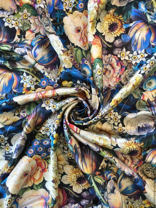 Шитье ручной работы. Ярмарка Мастеров - ручная работа. Купить Итальянский атласный шелк. Handmade. Комбинированный