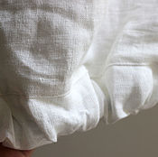 Одежда handmade. Livemaster - original item Copy of Khaki Linen Harem Pants with pockets. Handmade.