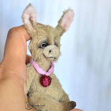 Dolls & toys handmade. Livemaster - original item Copy of Copy of Baby Donkey Bobby  toy OOAK handmade teddy sloth. Handmade.