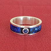 Украшения handmade. Livemaster - original item sapphire ring. Handmade.