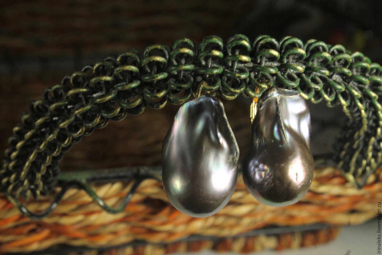 Earrings 'Buds', Earrings, Nizhny Novgorod,  Фото №1